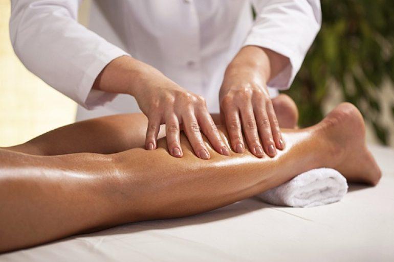 Оздоравливающий массаж ног